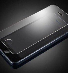 Защитные стекла iPhone 4,5,6.