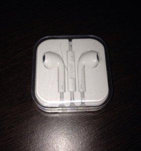 Наушники оригинальные от iPhone 6