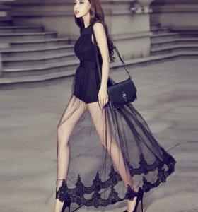Платье-комбинезон М нов