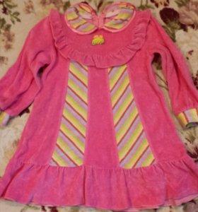 Платье(велюр)