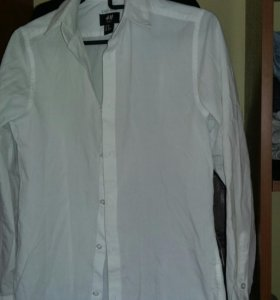 Рубашка школьная H&M xs