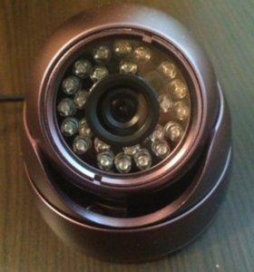 Камера купольная для видеонаблюдения 1 мегапиксель