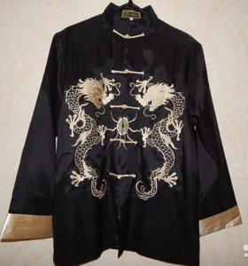 Рубашка в японском стиле