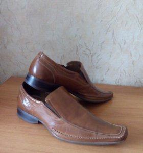 Ботинки кожаные 41размер👞👞