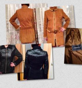 Куртка женская новая ,пальто в хорошем состоянии