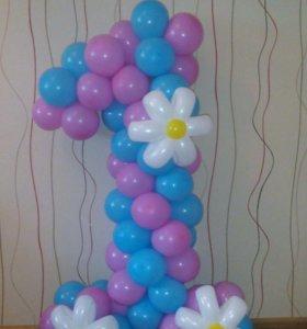 Фигурки из шаров