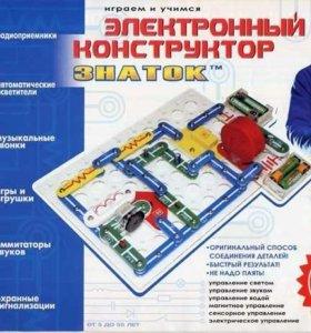Электронный конструктор Знаток 320 схем(новый.)