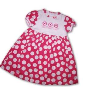 Платье детское новое. Р - 68,74,80