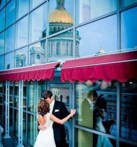 Кружевное свадебное платье с открытой спиной ❤️
