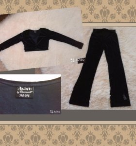 Велюровый костюм фирма Arina р.140-146