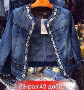 Продам новую джинсовку