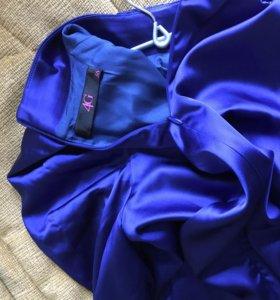 Платье атласное 4G