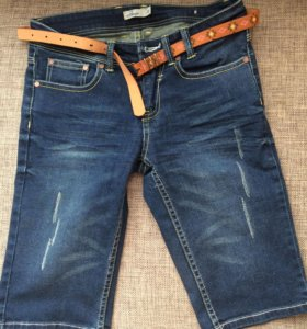 Бриджи джинсовые новые