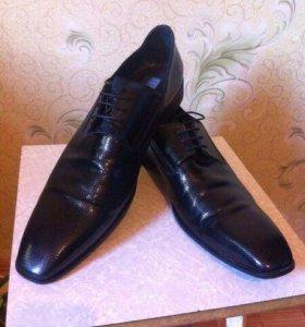 Мужские туфли vero cuolo Италия 44 размер