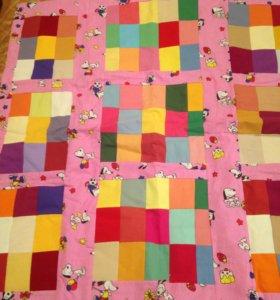Детские одеяло- покрывало новое