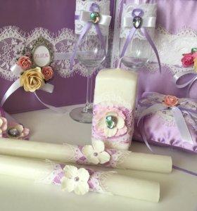 Набор свадебных аксессуаров