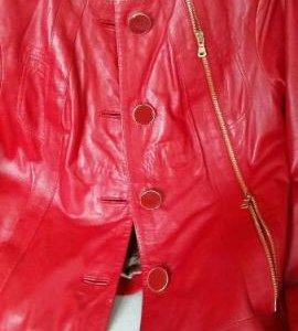 куртка  из натуральной кожи 46-48размер
