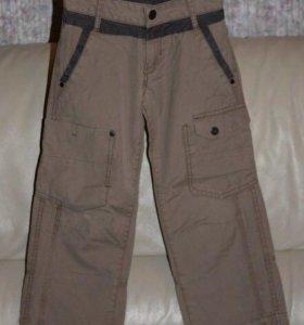 Мехх брюки на хлопковой подкладке