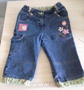 Бриджи джинсовые на девочку