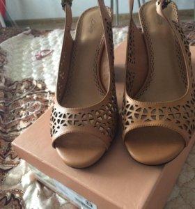 Туфли кожаные lisette