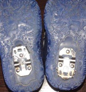 ботинки -валенки