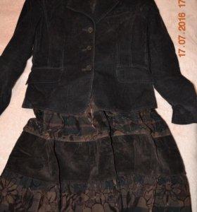 Юбка и пиджак