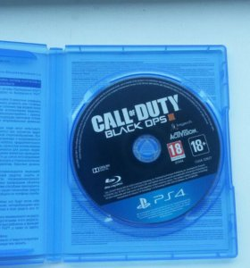 Диск для PS 4. CALL OF DUTY  BLACK OPS 3