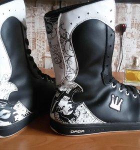Ботинки 39 размер, натуральная кожа