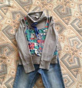 Кофта для девочки Этти- Детти.  5-6 лет