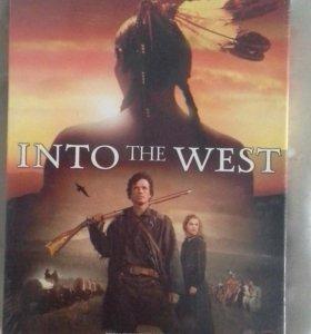 DVD диск с фильмом на английском языке