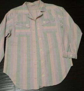 Рубашка-кардиган 50р