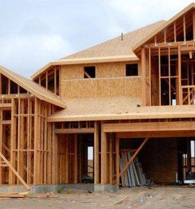 Строительство каркасных домов по Канадской техноло