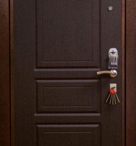 металлическая дверь 190 на 80 облегченная эконом
