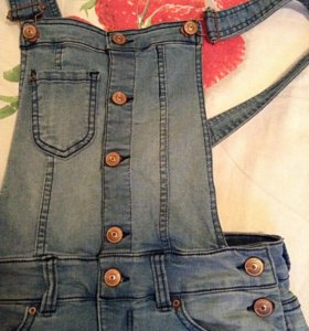 Комбинизон джинсовый