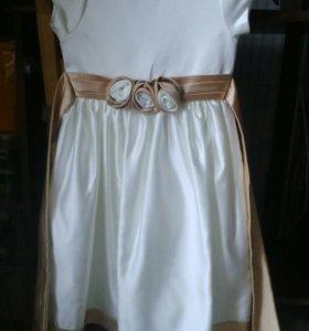 Продажа или прокат.Нарядное платье рост от 110 см.