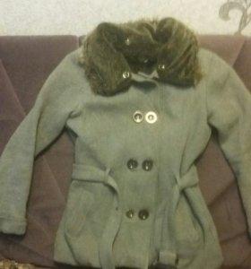 Пальто зима-весна размер 42-44