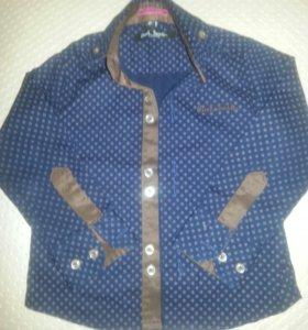 Детская рубашка Poul Smith. Италия