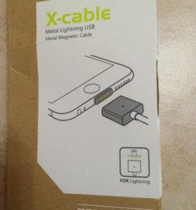 Магнитный кабель usb для iPhone 5s