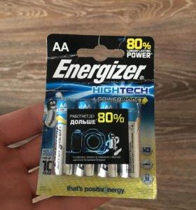 Батарейки пальчиковые AA