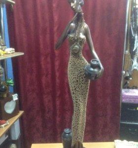 Статуэтка Африканка выс. 1 м