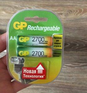 Батарейки аккумуляторные 2700 GP Rechargeable