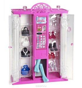 Шкаф с аксессуарами Барби