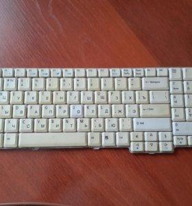 Модуль клавиатуры нойтбука acer 17.1'