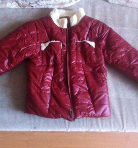 Детская кожаная куртка
