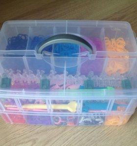 Детский набор для плетения из резинок