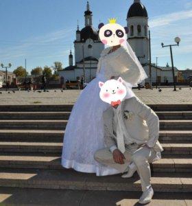 Свадебное платье, костюм