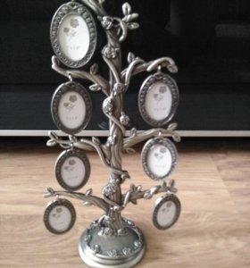 Рамка для фото семейное дерево
