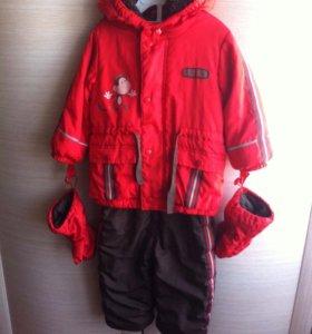 Куртка и брюки на мальчика