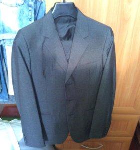 Школьный костюм Тройка+запасные брюки