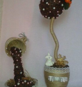 Топиарии и чашка